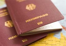 Fehler bei der Eingabe der Reisepass-Seriennummer